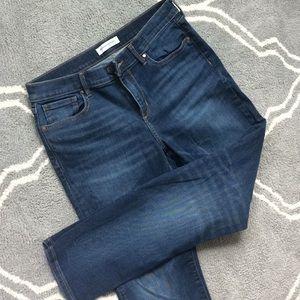 Banana Republic straight mid rise jeans 29 EUC